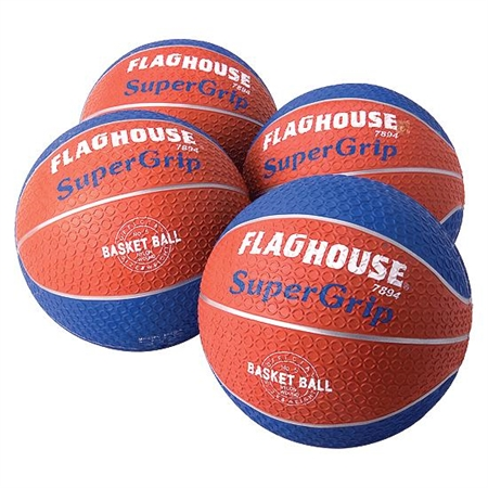 FLAGHOUSE Super - Grip Basketball - Biddy Size 5