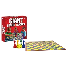 Giant Snakes and Ladders Board Game