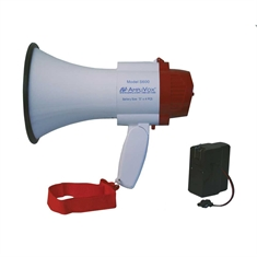 "AmpliVox® Mini-Meg 10 Watt ""Charge and Go"" Megaphone"