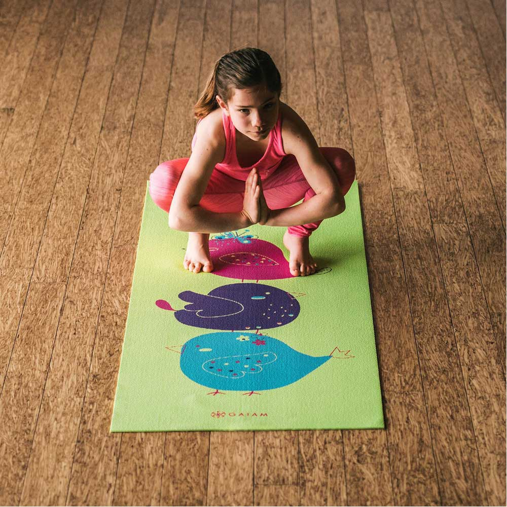 Miraculous Gaiam Kids Yoga Mat Bird Song Caraccident5 Cool Chair Designs And Ideas Caraccident5Info