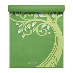 Gaiam Tree of Wisdom - Premium Printed Yoga Mat