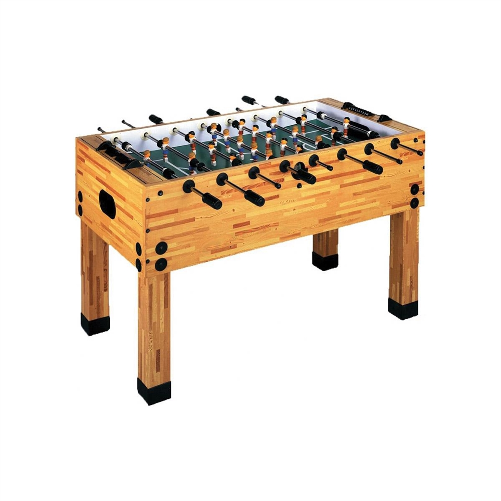 Butcher Block Foosball Table