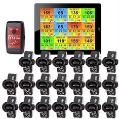 Heart Zones Step Tracker Strider System - 20 pack