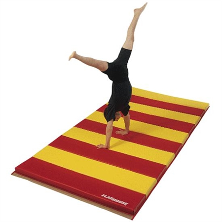 FLAGHOUSE Deluxe Instructor Mats - 2 Sided H & L - 4' x 6'