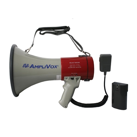 Mity Meg 25W Rechargeable Megaphone with detachable microphone