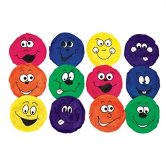 Happy Face Bean Bag Set