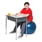 Bouncyband® No Roll Weighted Ball Chair - 55cm - Thumbnail 1