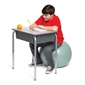 Bouncyband® No Roll Weighted Ball Chair - 55cm - Thumbnail 3