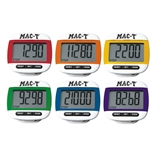 Rainbow 6 Color Pedometer Set
