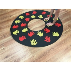 Tire Cross Challenge Mat