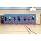 Everlast Chroma® Traverse Wall® - 8' x 40' Wall Package with Cordless Mat-Locking System - Thumbnail 3
