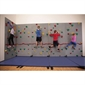 Everlast River Rock® Traverse Wall® - 8' x 4' Wall Climbing Package with Cordless Mat-Locking System® - Thumbnail 1