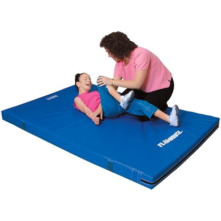 FLAGHOUSE Deluxe Therapy Mat - 4' x 6' - Special Needs Therapy Mats