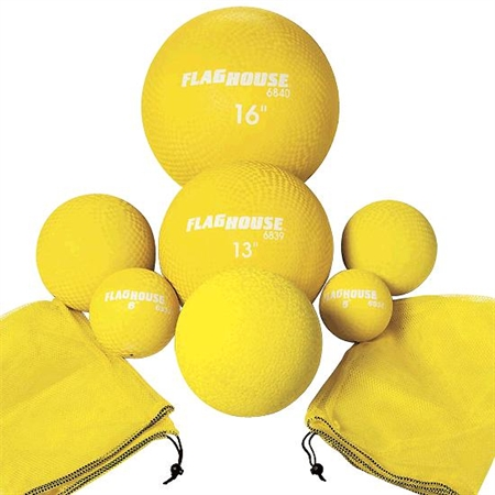 FLAGHOUSE Playground Balls Class Set - Red