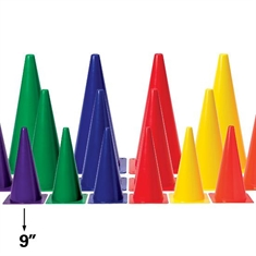 "Medium - Weight 9"" Colored Cone"