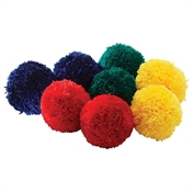 Fleece Balls - 4'' Colored Set