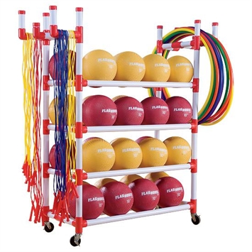 Warrior Products Adventure Rack >> Recess Rack | FlagHouse