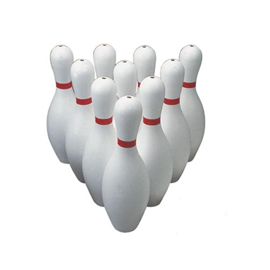 poly bowling pins weighted flaghouse