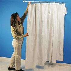 Wall - Mount Telescopic Curtain