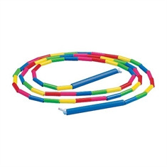 Rainbow Beaded Rope - 10'
