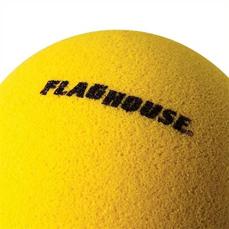 FLAGHOUSE Uncoated H - Bounce Foam Ball - Tennis size - 2 3/4'' dia