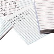 Raised-Line Writing Paper