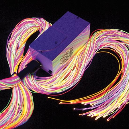 Ultra - Violet Fiber Optics