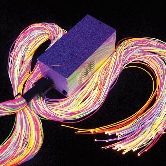 Ultra Violet Fiber Optics