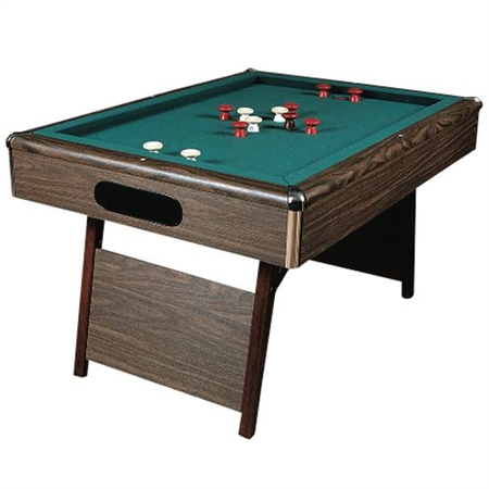 Hardwood Bumper Pool Table