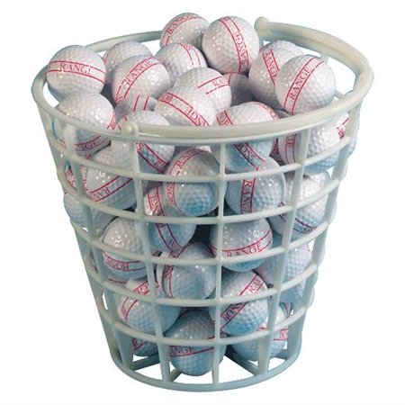 Golf Ball - Plastic Bucket