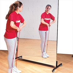 Glassless Rolling Mirrors - 48'' x 96''
